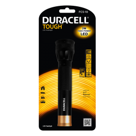 Фенер Duracell Tough Focus FCS-10 (2xC) - без батерии