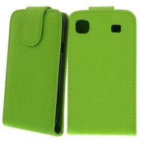 FLIP калъф за Samsung Galaxy S1 i9000 Green (Nr 30)