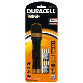 Фенер Duracell Tough Multi MLT-100 + 6xAA