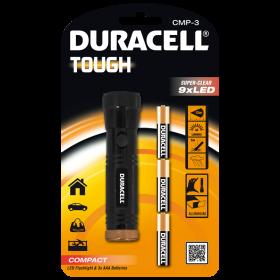 Фенер Duracell Tough Compact CMP-3 + 3xAAA