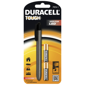 Фенер Duracell Tough Penlight PEN-1 + 2xAA
