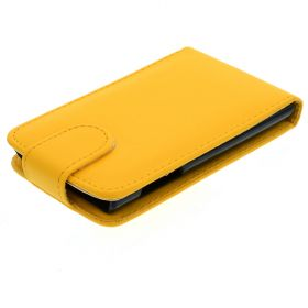 FLIP калъф за LG E610 Optimus L5 Yellow (Nr 9)