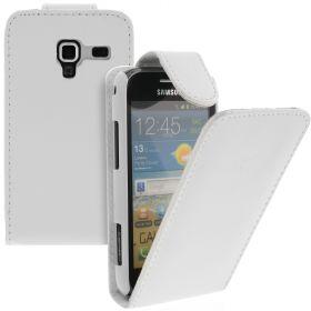 FLIP калъф за Samsung Galaxy Ace 2 GT-i8160 White (Nr 15)