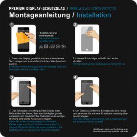 Стъклен протектор за  iPhone 4/4S  0.30mm ,2,5D