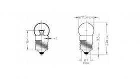 Крушки за фенер Varta V712 Krypton 4,8V