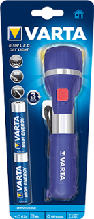 Фенер Varta 17651 0.5-Watt LED Day Light + 2xAA