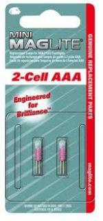Резервни крушки (криптон) за микро-фенер - 2 батерии ААА, 2 бр., блистер
