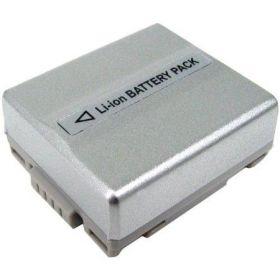 Батерия за видеокамера Panasonic VW-VBD07, CGA-DU07, CGR-DU07, DZ-BP07S, CGR-DU06, CGR-DU07, Сребриста, 800 mAh