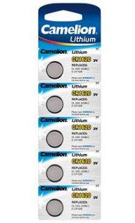 Литиева батерия Camelion CR1620 BL5