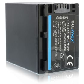 Blumax батерия за Sony NP-FV100 2850mAh Li-ion7.4V