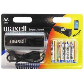 MAXELL Emergency Powerbank +4xAA