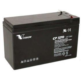 Оловна батерия VISION 12V - 7AH F1