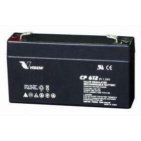 Оловна батерия VISION 6V - 1.3AH