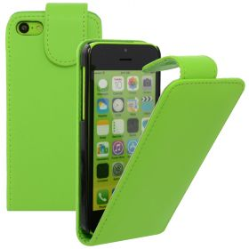 FLIP калъф за Apple iPhone 5c Green(Nr 30)