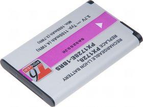Батерия за видеокамера Toshiba PX1728, PX1728U, PX1728E-1BRS, 1100 mAh