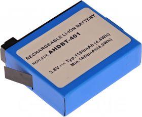 Батерия за фотоапарат GoPro AHDBT-401, 1150 mAh
