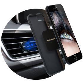 Магнитна стойка за телефон - монтаж върху въздуховод