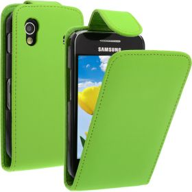FLIP калъф за Samsung Galaxy ACE GT-S5830 Green