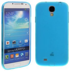 Silicon Case for Samsung Galaxy S4/i9500 Light Blue