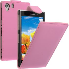 FLIP калъф за Sony Xperia Z1 Pink