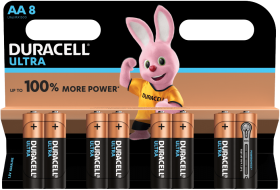 Duracell Ultra Power MX1500 AA BL8