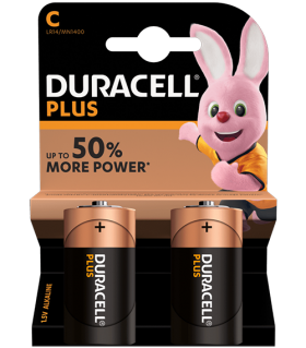 Алкални батерии C - LR14 - Duracell Plus Power MN1400