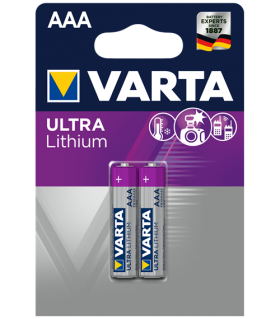 Литиеви батерии AAA - Varta Lithium AAA