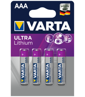 Литиеви батерии AAA Varta AAA