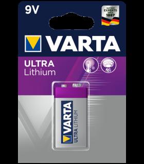 Varta Lithium 9V 1200mAh BL1