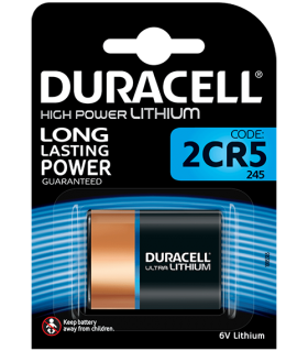 Литиева батерия 2CR5 DL245A - Duracell