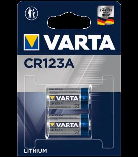 Литиеви батерии CR123A, DL123A - Varta