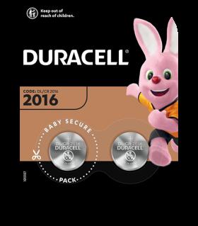 Литиеви батерии CR2016 Duracell DL2016 - 3V