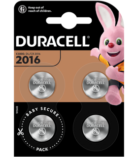 Литиева батерия DL2016 Duracell CR2016 - 3V
