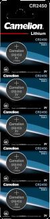 Литиеви батерии CR2450 Camelion CR2450 - 3V