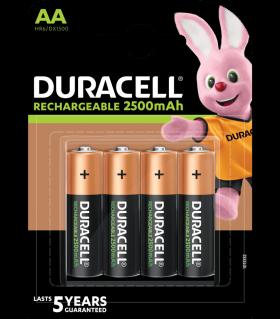 Акумулаторни батерии АА Duracell Stay Charged AA - 2500 mAh - BL4