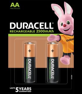 Акумулаторни батерии АА Duracell Stay Charged AA - 2500 mAh