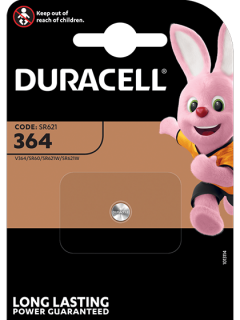 Батерия за часовник 364 - SR621SW - Duracell D364