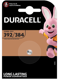 Батерия за часовник 392 - SR41W - Duracell D392
