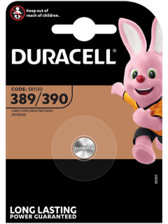 Батерия за часовник 389 - SR1130SW - Duracell D389