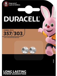 Батерии за часовник 357 - SR44W - Duracell D357