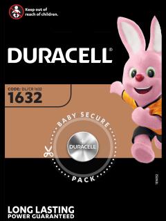 Литиева батерия CR1632 Duracell DL1632 - 3V
