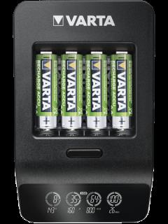 Smart зарядно устройство Varta с LCD и 4 батерии AA 2100 mAh