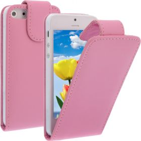 FLIP калъф за iPhone 5 Pink (Nr 13)