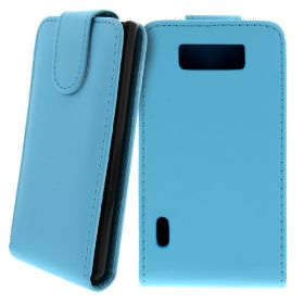 FLIP калъф за LG P700 Optimus L7 Hell Blue