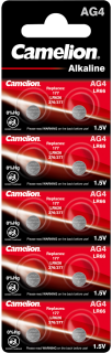 Алкални батерии AG4 - LR626 - 377 - 177 - Camelion