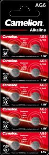 Алкални батерии AG6 - LR921 - 371 - 171 - Camelion
