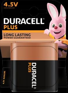 Алкална батерия 3LR12 Duracell Plus 3LR12 - 4.5V