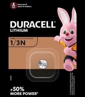 Литиева батерия CR 1/3 N - Duracell DL 1/3 N
