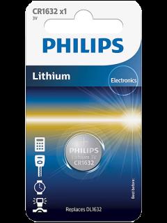 Литиева батерия CR1632 Philips CR1632 - 3V