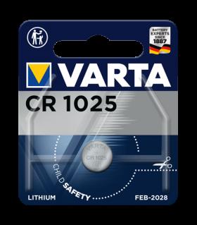 Литиева батерия CR1025 Varta CR1025 - 3V